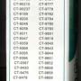TOSHIBA RM-D759 (Перечень)